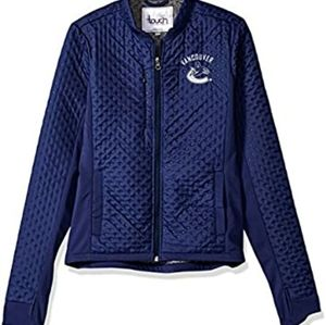 Black Touch by Alyssa Milano Adult Women Lead Off Jacket Large